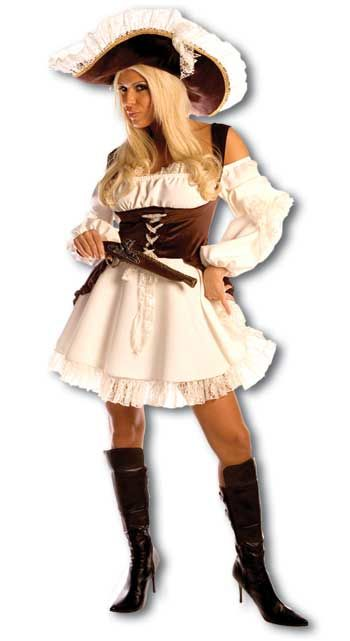 Romantic Pirate Bride Costume Size M / 38-40