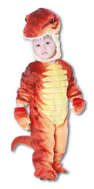 Dino Rex Costume Red XL