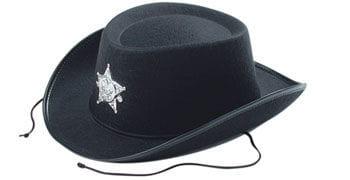 Children Cowboy Hat black