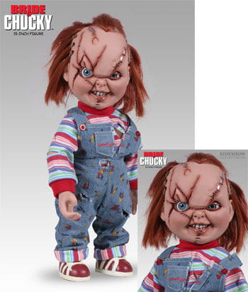 Chucky- scarred action figure 36cm