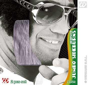 Riesen Koteletten Elvis grau