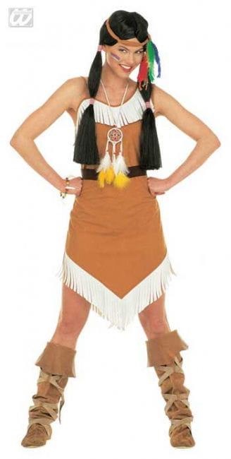 Squaw / Indianerin Kostüm Gr. L