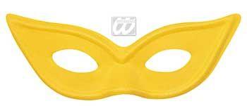 Katzenaugen / Catwoman Maske gelb