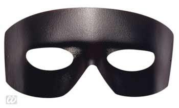 Zorro mask in leather optics