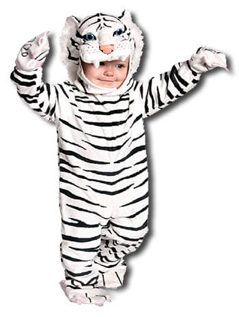 Cuddly White Tiger Toddler Costume M