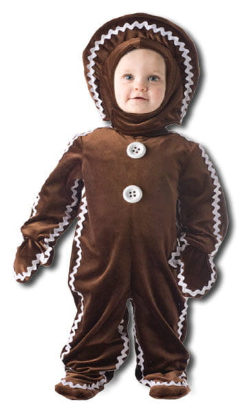 Delicious gingerbread man costume Small