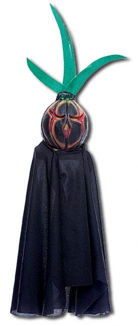 Morbid pumpkin hanging figure