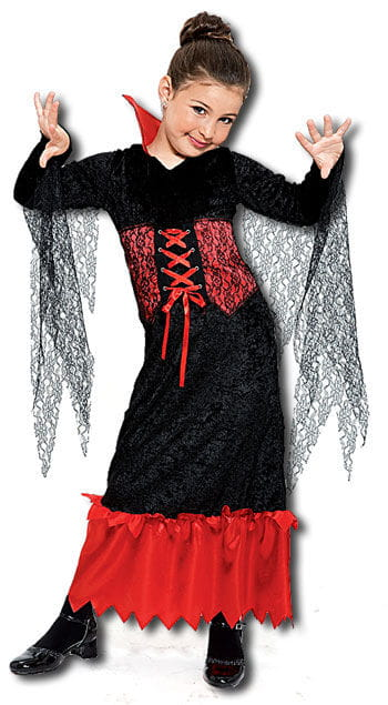 Vampire Queen Child Costume Size M