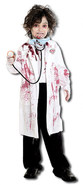 Deadly Surgeon Child Costume Size M