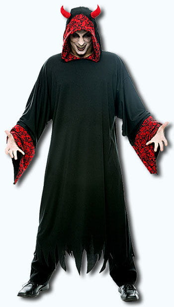 Höllischer Sensenmann Kostüm One Size