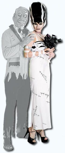 Bride of Frankenstein Outfit Gr. M
