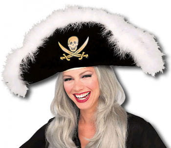 Pirate Hat With Marabufedern