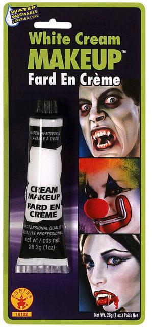 Creme Make Up Weiß in der Tube
