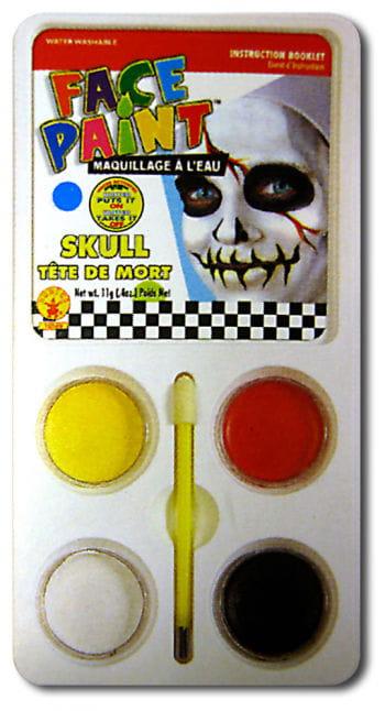 Skull Aqua Make Up Make Up