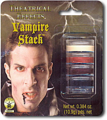Vampire Makeup Make Up Stack