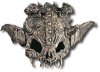 Totenschädel Bikerhelm Maske