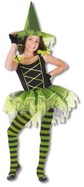 Ballerina Hexe Kinderkostüm M