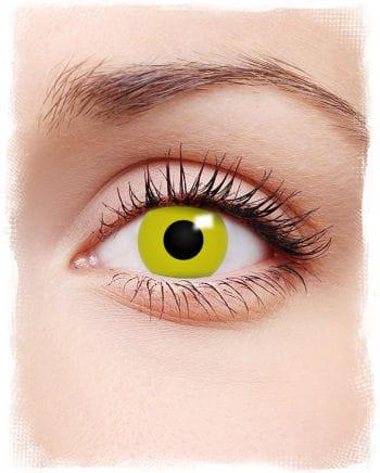 Yellow Raven Eye Contact Lenses