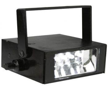 LED Stroboskop weiss mit Sound