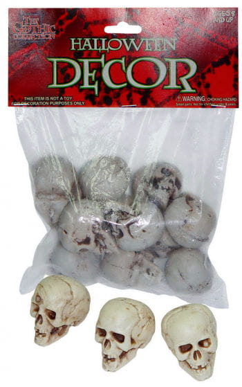 Bag of Skulls Medium 12pcs