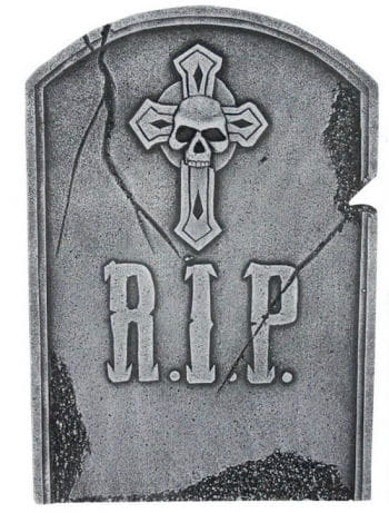 Halloween Tombstone with Cross