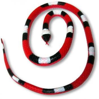 Rubber Snake red 90cm