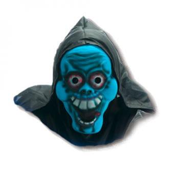 Blue demon mask