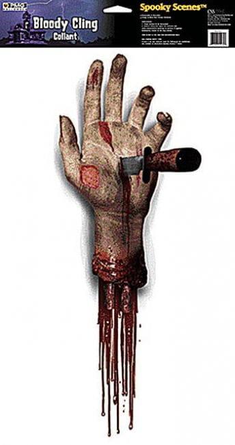 Severed Hand Door Decor