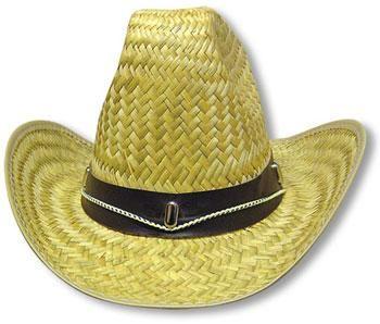 Straw Cowboy Hat Gr. M