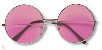 Pink 70s Sunglasses