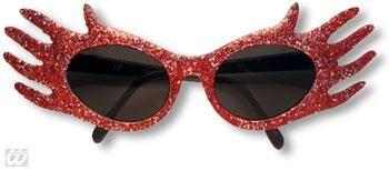 Space Jam Glitter Sonnenbrille Rot