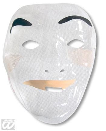 Male Mask without Beard