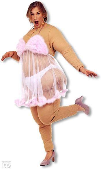 Babsi Fette Stripclub Schönheit Kostüm