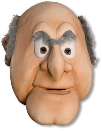 Muppets Statler Deluxe Maske