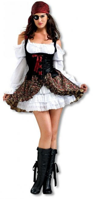 Heißes Piraten Babe Kostüm
