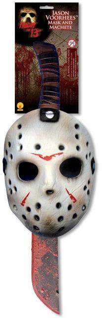 Jason Machete und Maske Set