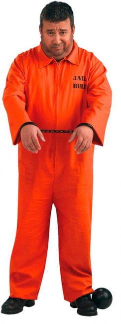 US Häftling Kostüm XL