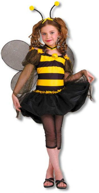 Süße Honigbiene Kinderkostüm