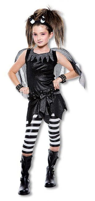 Gothic Fairy Child Costume M