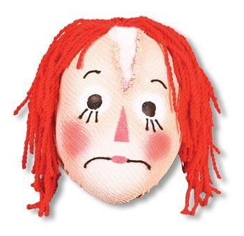 Rag Doll Doll Mask