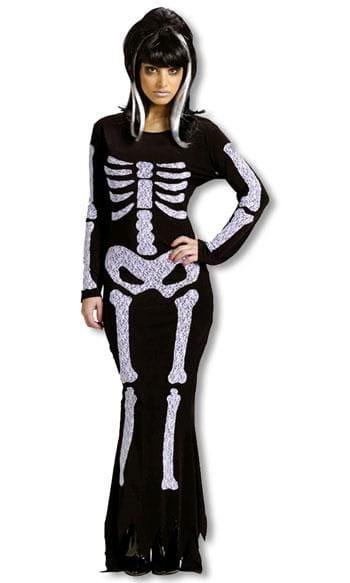 Skelettkleid Kostüm SM