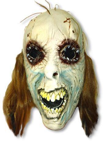 Poker Face Latex Mask