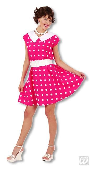 50s Polka Dot Dress Gr. S