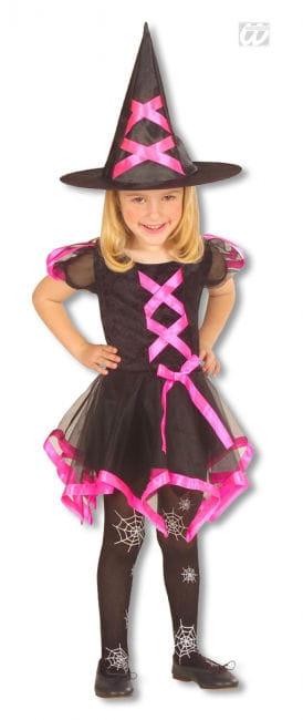 Hexen Kinderkostüm pink