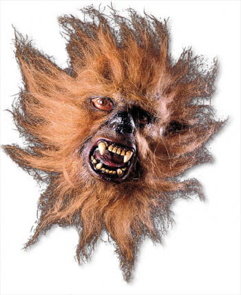 Werwolf Halbmaske braun