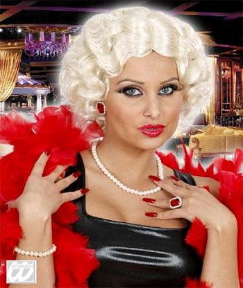 30s wig Betty Blond