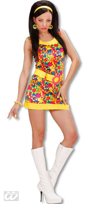 Funky Girl Costume Size S