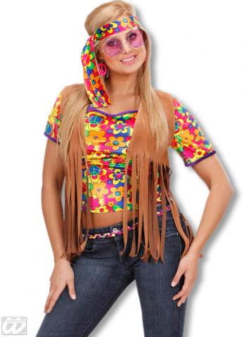 Hippie Fringe Vest M