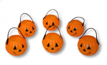Mini pumpkin bucket