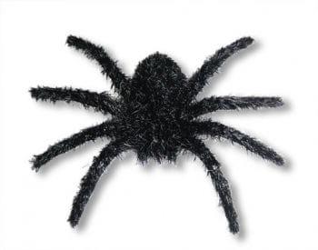 Haarige Minispinne schwarz